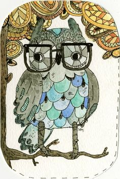 Image result for owl glasses tattoo