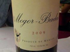 Mi vino mexicano favorito