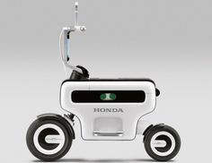 Honda Motor   Foldable Electric Scooter   Design !ndex
