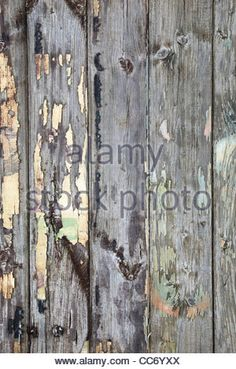 wooden fence abstract background - Stock Photo