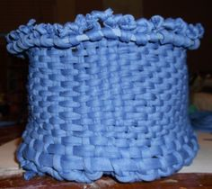 Weave a Fabric Basket