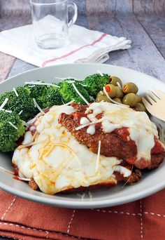 From-scratch tasting Chicken Parmesan - made low carb! Shared via http://www.ruled.me/