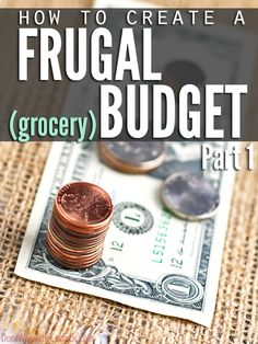 Looking for some extra help with getting your budget under control? Check out my Creating a Frugal Grocery Budget series! :: DontWastetheCrumbs.com