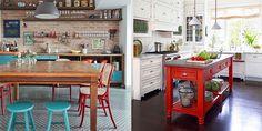 Decoração: Vermelho na cozinha   Just Lia