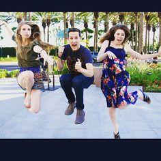 Christine Riccio, Jesse George, and Kat O'Keefe #BookTube <<<< The Booksplosion Crew ❤️❤️❤️
