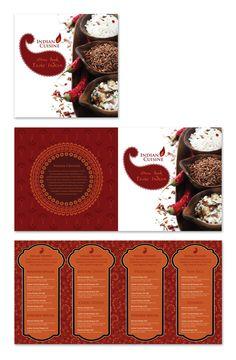 Menu Card Design, Food Menu Design, Food Poster Design, Food Packaging Design, Restaurant Menu Card, Restaurant Indian, Restaurant Logo Design, Art Restaurant, Indian Menu Design