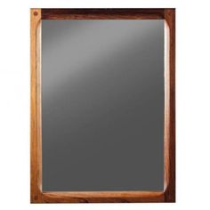 Danish Mirror in Rosewood by Aksel Kjersgaard for Odder Møbler for sale at Pamono 44cm wide x 60cm high