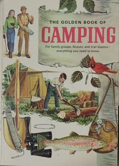 1971 The Golden Book of Camping  For Family by BasketCaseBooks, $36.00