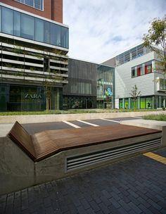Újbuda City Centre by Garten Studio « Landezine   Landscape Architecture Works