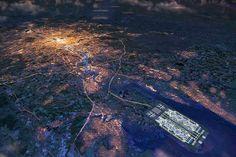 Thames Hub Airport e #Londra. Progetti di #Norman #Foster