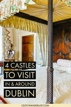 4 Castles To Visit In And Around Dublin - Im a big fan of historic places when it comes to things to see. Ive travelled in and around Dublin Ireland to find the most inspiring castles for you to visit. Ireland Places To Visit, Places To Go, Dublin Ireland, Ireland Travel, Castles To Visit, Dublin Castle, Uk Destinations, Castles In Ireland, Europe Travel Tips