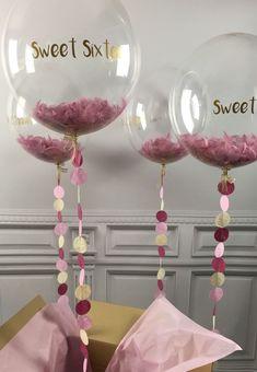 La mejor - Decoration For Home Gold Letter Balloons, Bubble Balloons, Confetti Balloons, Balloon Centerpieces, Balloon Decorations, Birthday Decorations, Wedding Decorations, Sweet 16 Birthday, 16th Birthday