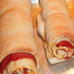 Cheesy Pepperoni Twist Rolls