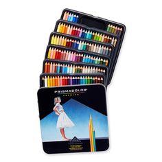 Prismacolor Premier Soft Core Colored Pencil, Set of 132 Assorted Colors (4484)
