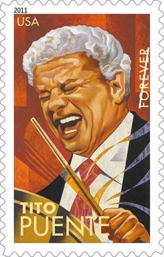 2011 First-Class Forever Stamp - Latin Music Legends: Tito Puente Latin Music, Latin Dance, Dance Music, Musica Salsa, Salsa Music, Salsa Dance, Puerto Rican Culture, Puerto Ricans, Stamp Collecting