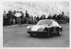 HUGUES HAZARD.PORSCHE 911 S COURSE DE COTE SEWEN 1967