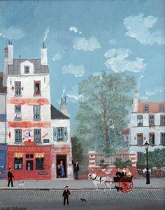 Bonjour Mr. Rousseau by Michel Delacroix
