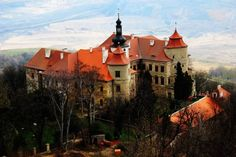 Czech Republic, Mansions, House Styles, Manor Houses, Palaces, Castles, Bohemia, Europe, House