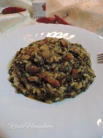"""2 novembre 2016     Buona giornata a tutti.  Oggi il piatto che vi propongo è una ricetta di mia nonna, """"Riso e cicoria"""": un primo piatto po..."""