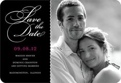 my save the date, not personalized yet ; )