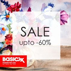 You can't resist it! The #Weekend@Basicxx – Upto 60% off #Basicxx #Fashion