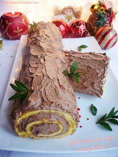 Gabriella kalandjai a konyhában :): Csokoládés fatörzs Hungarian Desserts, Hungarian Recipes, Waffle Cake, Good Foods To Eat, Xmas Food, Homemade Cakes, Sweet Bread, Cake Cookies, Cake Recipes