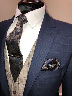 Wedding Suit Hire For Men & Tailoring – [pin_pinter_full_name] Wedding Suit Hire For Men & Tailoring Slim fit blue check suit Wedding Suit Hire, Perfect Wedding Dress, Wedding Men, Trendy Wedding, Tweed Waistcoat, Tweed Suits, Mens Suits, Suit Men, Country Wedding Groomsmen