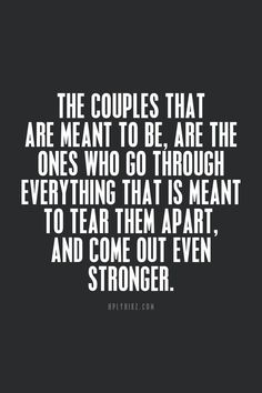 Are we meant? Do you give up on me?? It's all on you! Me? I am here to get stronger together. Forever .... soooo....