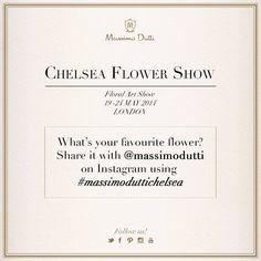 Massimo Dutti - Floral Art Show London '14