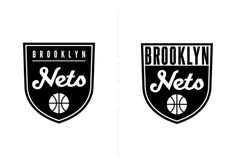 The new logo for the Brooklyn Nets had all the right ideas going for it but I felt that the final design really lacked in execution, almost looking as if it were unfinished. I've been reading various design blogs and forums and the general response from the design community is underwhelming. Bobby Solomon of The Fox Is Black put it perfectly in this write up earlier this week.  So, along with all the other designers out there having a go (this one from a while back is wicked), here are two