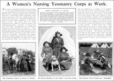 http://fany.org.uk/public/FANY_WW1_Overview_Pdf.pdf | WWI | FANY (PRVC) - Princess Royal's Volunteer Corps