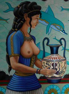 Minoan woman by cisiopurple