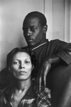Joe, a jazz trumpet player with his wife May by Henri Cartier-Bresson
