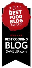 Saveur magazines's 2011 Blog Awards, great source for awesome web/blog sites