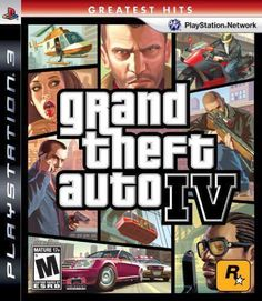 Grand Theft Auto IV -- Greatest Hits (Sony PlayStation for sale online San Andreas, Grand Theft Auto, Ps3 Games, Playstation Games, Wii, Gta 4, Riot Points, Latest Video Games, Frases