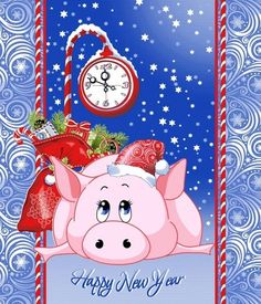 Фотографии ART-ЭПАТАЖ Christmas Rock, Christmas Cards, Merry Christmas, Xmas, Christmas Ornaments, Pig Illustration, Illustrations, New Year Card, Printable Paper