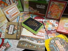 "HandmadebyRenuka: 1 kit -10 and more cards - SSS- ""Thankful Heart""ca..."
