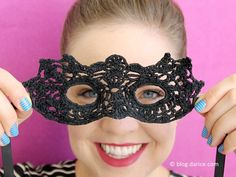 CROCHET DIY MASQUERADE MASK
