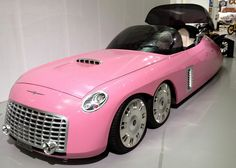 Weird Cars, Cool Cars, Thunderbirds Are Go, Favorite Cartoon Character, Pedal Cars, Ford, Retro Futurism, Pink Shoes, Motor Car