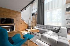 Scandinavian loft Apartment interior Design With Perfect floor plan - RooHome   Designs & Plans