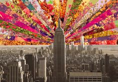 """Curioos.com   """"Blooming NY"""" by Bianca Green (Germany) - http://pinterest.com/curioos"""