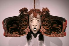 Art Thompson; Whale and Pook-UBS Transformation Mask; 2002; red cedar