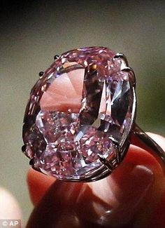 The Pink Star is the largest internally flawless pink diamond.