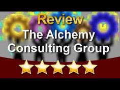 http://www.thealchemyconsultinggroup.com/ A 5 Star review of the business consulting client received from consultants at The Alchemy Consulting Group. Client chose Alchemy Consulting to help her market her business.  Call 877-978-2110.