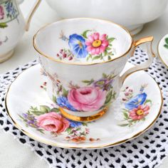 Royal Windsor Fine English Bone China Tea Cup and by Wicksteads, £19.95