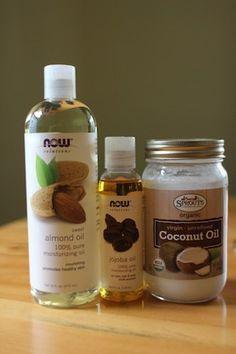 Tea tree, eucalyptus, peppermint, and coconut oil.