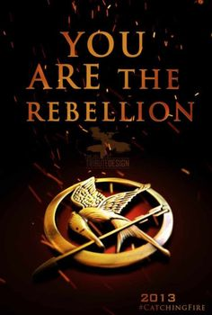 You are the rebellion Hunger Games