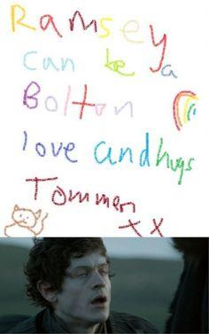 Ramsay's big dream