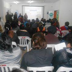Mediante articulacion de la Directora General de Centros Integradores comunitarios, Dra. Laura Cartuccia, beneficiarias del Programa Ellas Hacen, de la zona norte, se capacitan con Profesionales de Salud Mental.-