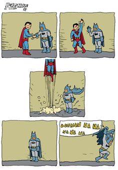 Batman #cartoon #comicstrip